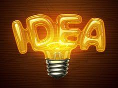 Idea Bulb by Erfan Nuriyev