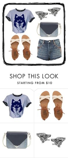 """""""Dance with the wolves"""" by des4etoo ❤ liked on Polyvore featuring Billabong, Alexander Wang, Journee Collection and Topshop"""