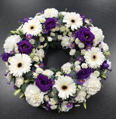 #Flowers #florist #Bouquets All Flowers, Pretty Flowers, Wedding Flowers, Funeral Floral Arrangements, Flower Arrangements, Fresh Wreath, Funeral Tributes, Sympathy Flowers, Floral Letters
