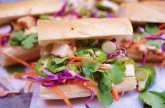 #Recipe for grilled tofu banh mi