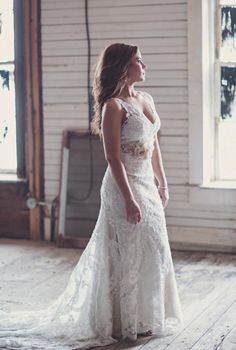 #allure #real #brides Allure Bridals Style: 8856 - Wedding Photography: Kim Boyd of Kimbrali Photography