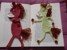 Marque page âne, au crochet                                                                                                                                                                                 Plus