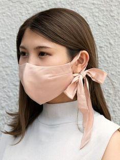 Easy Face Masks, Diy Face Mask, Knit Fashion, Fashion Face Mask, Bridal Mask, Diy Hair Accessories, Diy Mask, Mask Design, Diy Clothes