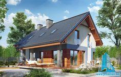 Dom w żurawkach 2 Plan General, Home Fashion, Ideas Para, Gazebo, Exterior, Outdoor Structures, House Styles, Outdoor Decor, Design