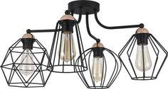 Mérete: magassága hosszúsága 60 cm, szélessége Anyaga: fém Szín: fekete Villamos adatok: x max. Concrete Lamp, Blue Rooms, Bedroom Lighting, Shoe Rack, Bar Stools, Light Bulb, Modern, Chandelier, Ceiling Lights