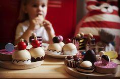 Bajkajlaj toys  Cupcake, cake, sweet wooden handmade toys