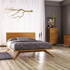 Some design of mid century bedroom styles might suit you. You can see the list of ​​mid century bedroom ideas down below. Mid Century Modern Bedroom, Mid Century Modern Furniture, Modern Bedroom Furniture, Furniture Sets, Quality Furniture, Hardwood Furniture, Contemporary Furniture, Modern Contemporary, Smart Furniture