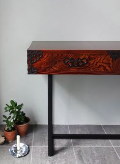 Tansu Console by Monmaya, Japan