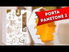 ▶ Porta Panetone - Como Fazer Artesanato com Decoupage e Craquelado em Mdf - Faça Você Mesmo(Diy) - YouTube