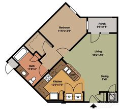 View floor plans, photos, and community amenities. Small Floor Plans, Cottage Floor Plans, Craftsman House Plans, Modern House Plans, Small House Plans, House Floor Plans, Small Tiny House, Tiny House Design, Tiny House Nation