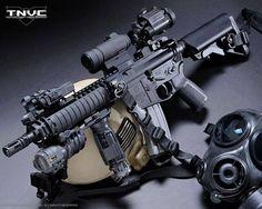 Tactical Night Vision Co. Airsoft Guns, Weapons Guns, Guns And Ammo, Ar Rifle, Ar Pistol, Battle Rifle, Military Guns, Hunting Rifles, Cool Guns