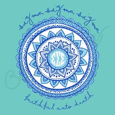 Sorority Recruitment Sigma Sigma Sigms Tribal Mandala Tribal Mandala South By Sea