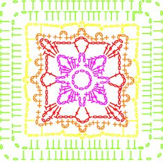 Chart for Chartreuse - LoveCrochet blog