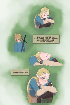 Garrett Robinson — arrhythmiacomic: …and perhaps I, too, will be. New Zelda, Link Zelda, Legend Of Zelda Memes, Legend Of Zelda Breath, Nintendo, Evil Demons, Evil Villains, Gamers Anime, Pokemon Images
