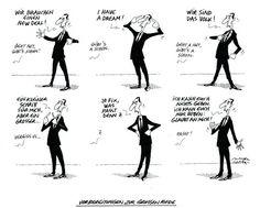 """OÖN-Karikatur vom 11. Jänner 2017: """"Vorbereitungen zur großen Rede"""" Mehr Karikaturen auf: http://www.nachrichten.at/nachrichten/karikatur/ (Bild: Mayerhofer)"""