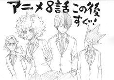 #Crobar par @horikoshiko, l'auteur du manga #MyHeroAcademia, pour la diffusion…