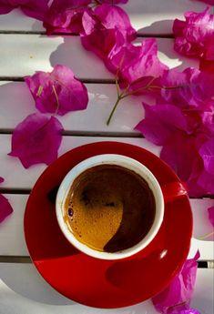 Home / Twitter Coffee Love, Coffee Break, Good Morning Gif, Flower Graphic, Coffee Photography, Chocolate Fondue, Beautiful Flowers, Turkey, Tableware
