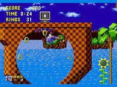 Sonic Platform Game