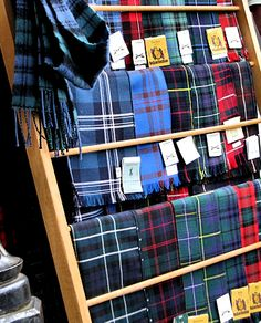 Plaids know how to mix it in.