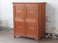 Scaramanga is super pleased to have sourced this superb large Vintage Wooden Lockers. #kitcheninspo #kitchenfurniture #vintagekitchen #woodenfurniture #kitchenstorage Repurposed Furniture, Wooden Furniture, Kitchen Furniture, Vintage Furniture, Wooden Lockers, Vintage Lockers, Cupboard Storage, Kitchen Storage, Locker Storage