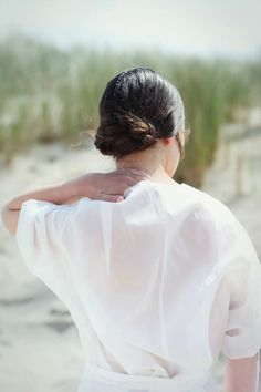 Hairstyle for Designer Christina Braun