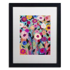 Autumn Splendor by Carrie Schmitt Matted Framed Painting Print