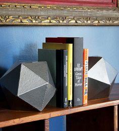 Giant Metallic DIY D20 - Our Nerd Home