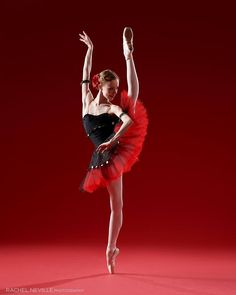 A fiery Elisabeth Beyer of Ellison Ballet heralding in a little extra joy today. By: Rachel Neville Photography