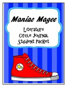This is a seven part literature circle packet, made specifically to go with the novel Maniac Magee, to be done in a span of weeks.The parts one and two contain weekly literature circle reading assignments, as well as weekly literature circle roles. Maniac Magee, Literature Circles, Fifth Grade, Teacher Pay Teachers, Language Arts, Goal, Novels, Study, Journal