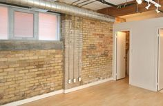 ** Chocolate Lofts ** Great New Post, Brick & Beam, Large 1 Bedroom Loft, 1014 Sq. Located In The Heart Of Happening Queen St. Chocolate Company, Bedroom Loft, Workout Rooms, Lofts, Open Concept, Beams, Toronto, The Neighbourhood, Brick