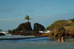 litoral da Paraíba - Praia de Tambaba - naturismo