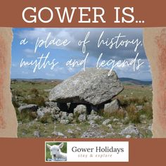Gower is a place of history, myths and legends and one of the best known legends is that of Arthur's Stone on Cefn Bryn, near Reynoldston. Does it really go down to the sea for a drink?  #reynoldston #visitwales #arthursstone #gowerpeninsular #ukholidays #gowerholidays #walking #walkingholiday #gowerpeninsula #gower #walesholiday #familyholiday #visitgower #familytime #history #burialground #neolithic #neolith #burialchamber #heritage #ukheritage #arthursstonegower Holiday Tops, Family Holiday, Wales Holiday, Gower Peninsula, Visit Wales, Walking Holiday, Uk Holidays, Legends, Things To Do