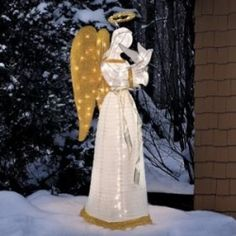 christmas angel lawn decoration new house designs
