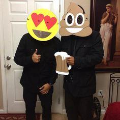# Emoji Costumes For Halloween 4 - DYI