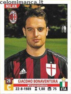 Calciatori 2015-2016: Fronte Figurina n. 373 Giacomo Bonaventura