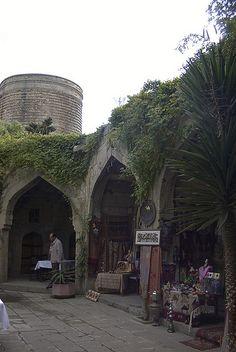 Caravanserai, Walled City of Baku, Azerbaijan