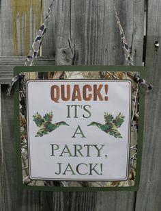 Duck dynasty card   Duck Dynasty Inspired Door Sign by LemonSugarStudios on Etsy