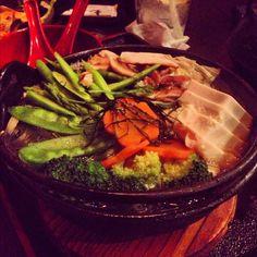 Vegetable sukiyaki
