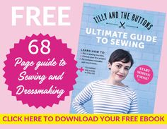 Beginner Dressmaking Guide with 8 FREE sewing pattern projects! Baby Sewing Tutorials, Sewing Patterns For Kids, Dress Sewing Patterns, Sewing Hacks, Free Tutorials, Sewing Tips, Pdf Patterns, Baby Dungarees Pattern, Kids Dungarees