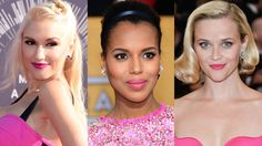 Gwen Stefani, Kerry Washington and Reese Witherspoon look playful and girly in shades of hot pink.   - HarpersBAZAAR.com