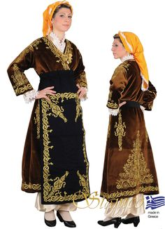 Fully embroidered festive dress from Cappadocia - 641198