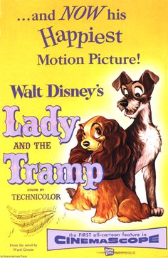 Happy 60th anniversary to Lady and the Tramp, which had its premiere on June 16, 1955
