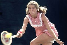tennis tracey austin - Such a little girl with her ruffled bloomers!