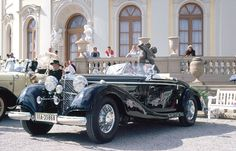 Mercedes-Benz 540K Spezial Roadster (second series). A gift from Adolph Hitler to King Michael of Romania.