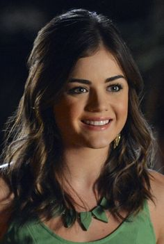 Lucy Hale. Beauty tricks from PLL's Aria Montgomery. Here are our favorite product picks to get her look