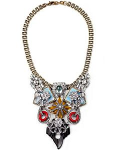 Lulu Frost for J.Crew Indian Summer Necklace #refinery29