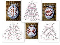 Crocheted eggs -- pattern