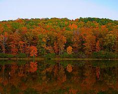 Autumn in Alabama, Oak Mountain State Park