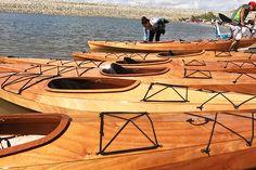 Ellero Wood Kayak Demo