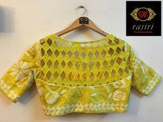 Latest Saree Blouse Back Designs for Modern Look - Fashion Stylish Blouse Design, Fancy Blouse Designs, Blouse Neck Designs, Latest Saree Blouse, Ethno Style, Designer Blouse Patterns, Sarees, Sharara, Anarkali